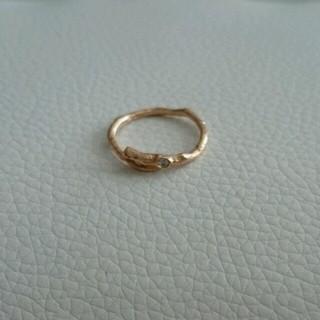 アッシュペーフランス(H.P.FRANCE)のオリエフィオリ ピンキーリング(リング(指輪))