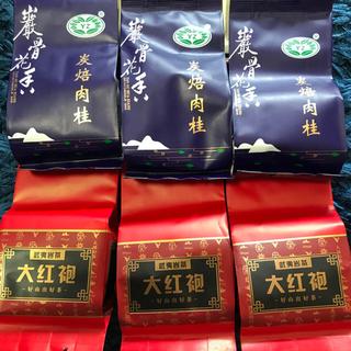 sakura様専用 中国茶 肉桂 特級武夷烏龍茶 9袋+ 大紅包 3袋 セット(茶)