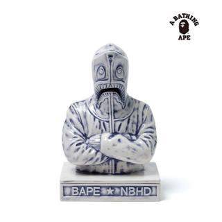 アベイシングエイプ(A BATHING APE)のNEIGHBORHOOD x  BAPE CHAMBER お香立て ブルー(お香/香炉)