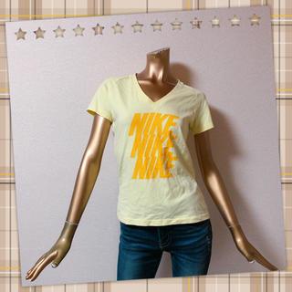 ナイキ(NIKE)のNIKE ★ プリント ロゴ Vネック Tシャツ(Tシャツ(半袖/袖なし))