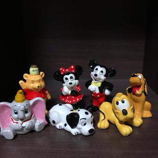 ディズニー(Disney)のレア 当時物 ディズニー 置物 セット(置物)