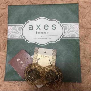 アクシーズファム(axes femme)の新品 axes フックタイプピアス(ピアス)