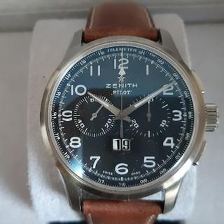 ゼニス(ZENITH)のゼニス ZENITH パイロット ビッグデイトスペシャル 正規店購入 極美品(腕時計(アナログ))