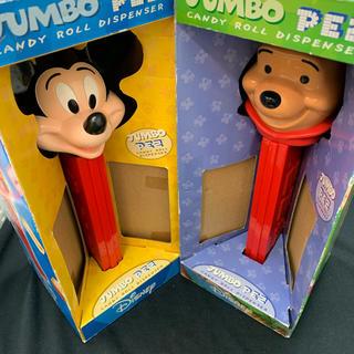 ディズニー(Disney)のペッツ XXL PEZ Mickey&POOH ジャンボサイズ(キャラクターグッズ)