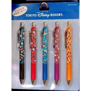 ディズニー(Disney)の☆ディズニーリゾート限定☆ ミッキー&フレンズ ゲルインキ ボールペン セット(ペン/マーカー)