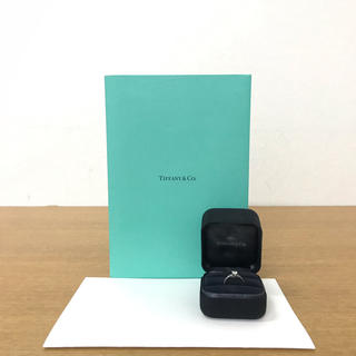 ティファニー(Tiffany & Co.)のティファニー ノヴォ ダイヤリング Pt950 サイズ7.5号 ☆カルティエ (リング(指輪))