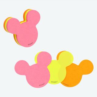 ディズニー(Disney)の【新品未開封】ディズニー ふせん(小)(ノート/メモ帳/ふせん)