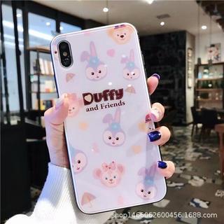 Disney - 新品 ダッフィーfriend's iPhoneケース ガラス