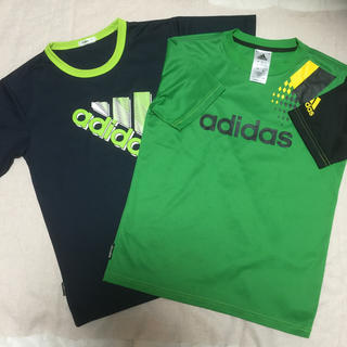 アディダス(adidas)のアディダス 150 Tシャツ2枚セット(Tシャツ/カットソー)