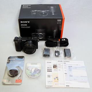 SONY - α6400 ILCE-6400L パワーズームレンズキット+その他