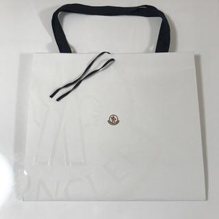 モンクレール(MONCLER)の[美品] MONCLER モンクレール ショップ袋 ショッパー Lサイズ(ショップ袋)