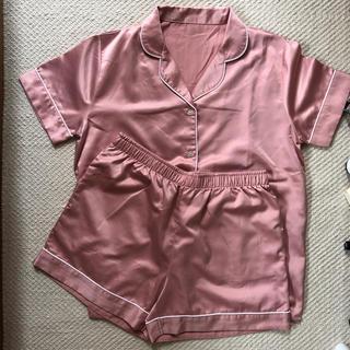 ジーユー(GU)のGU 半袖パジャマ(ルームウェア)