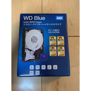 計4台 新品 WESTERN DIGITAL WD40EZRZ-RT2 4TB(PC周辺機器)