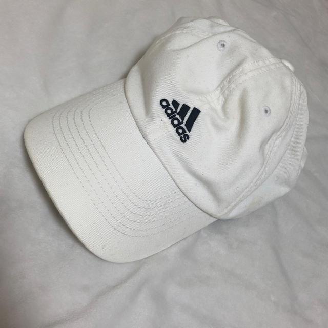 adidas(アディダス)のadidas キャップ ホワイト レディースの帽子(キャップ)の商品写真