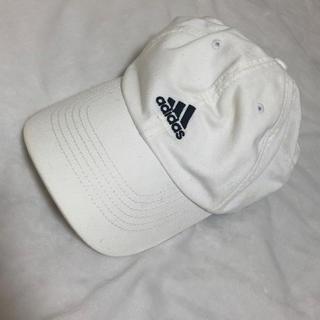 アディダス(adidas)のadidas キャップ ホワイト(キャップ)