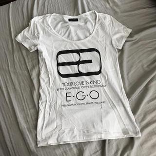 エゴイスト(EGOIST)のego♡ロゴT(Tシャツ(半袖/袖なし))
