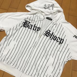 ベイビーシュープ(baby shoop)のベイビーシュープ半袖パーカー(Tシャツ(半袖/袖なし))