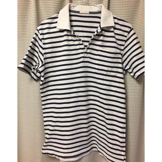 ジーユー(GU)のGU ボーダー ポロシャツ(ポロシャツ)