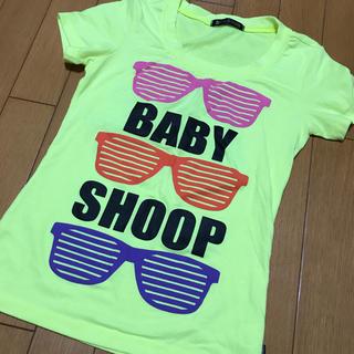 ベイビーシュープ(baby shoop)のベイビーシュープ蛍光イエロー(Tシャツ(半袖/袖なし))