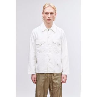 アクネ(ACNE)のOur legacy Hand painted oversized jacket(Gジャン/デニムジャケット)