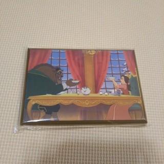 ディズニー(Disney)の【レア品】Disney 壁掛け プレート 壁掛け飾り 限定品 美女と野獣(インテリア雑貨)