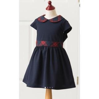 キャサリンコテージ(Catherine Cottage)の新品 キャサリン コテージ タータンチェック丸襟ワンピース(ワンピース)