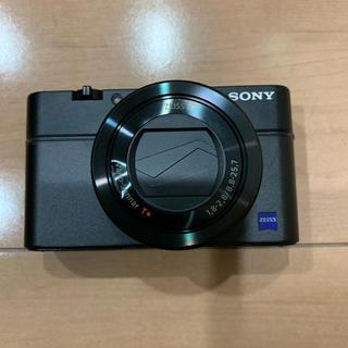 ソニー(SONY)のSONY RX100M3(コンパクトデジタルカメラ)