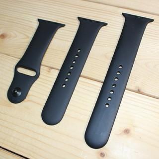 アップルウォッチ(Apple Watch)の【純正品】Apple watch スポーツバンド 42mm 44mm(ラバーベルト)
