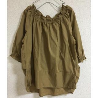 スタディオクリップ(STUDIO CLIP)のスタディオクリップ  綿麻トップス(シャツ/ブラウス(半袖/袖なし))