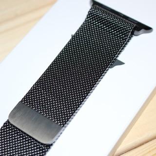 アップルウォッチ(Apple Watch)の純正品 ミラネーゼループ Apple Watch 42mm 44mm(金属ベルト)