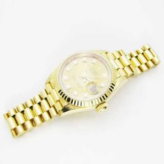 ロレックス(ROLEX)のロレックス デイトジャスト 69178G AT K18 10PD L番 OH磨済(腕時計)