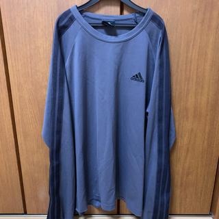 アディダス(adidas)のアディダス 三本ライン 長袖 トップス クライマライト (Tシャツ/カットソー(七分/長袖))
