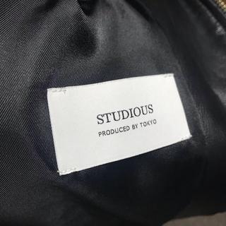 ステュディオス(STUDIOUS)のラムレザーシングルライダース(ライダースジャケット)