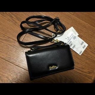 シマムラ(しまむら)のしまむら カード&スマホ ポーチ ポシェット 新品未使用(ショルダーバッグ)