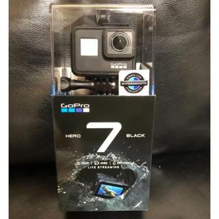 ゴープロ(GoPro)のGopro 7 hero black ブラック 新品未使用(ビデオカメラ)