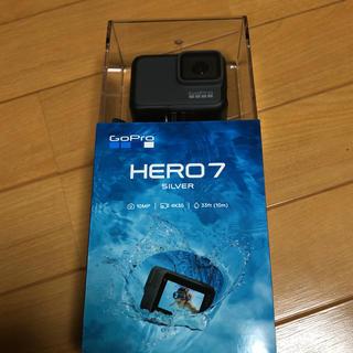 ゴープロ(GoPro)の✳︎新品✳︎ gopro hero7 silver(コンパクトデジタルカメラ)