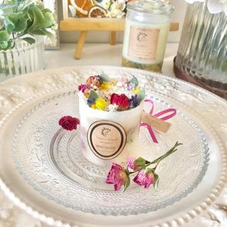 【母の日】mini hallcake candle ※アロマワックス(アロマ/キャンドル)