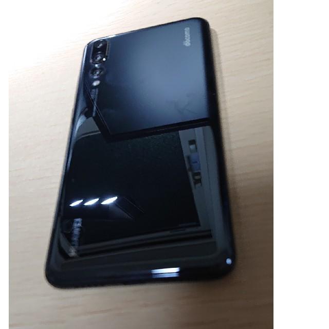 NTTdocomo(エヌティティドコモ)の中古 ドコモ P20Pro HUAWEI SIMロック解除済み スマホ/家電/カメラのスマートフォン/携帯電話(スマートフォン本体)の商品写真