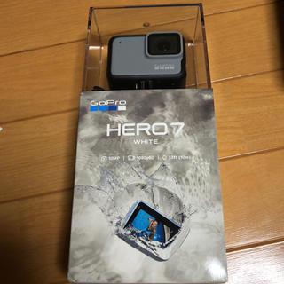 ゴープロ(GoPro)の✳︎新品✳︎ gopro hero7 white(コンパクトデジタルカメラ)