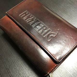 ヒステリックグラマー(HYSTERIC GLAMOUR)のヒステリックグラマー革財布(折り財布)
