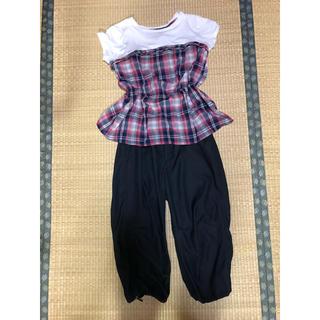 ジーユー(GU)のシャツ、半パン セット(セット/コーデ)