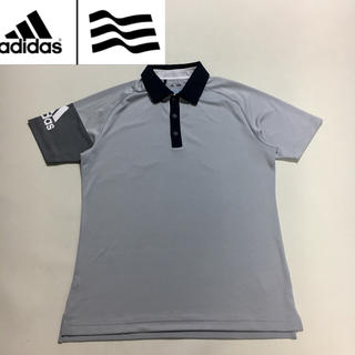 アディダス(adidas)のadidas GOLF アディダス ゴルフ シャツ ポロシャツ グレー Sサイズ(ウエア)