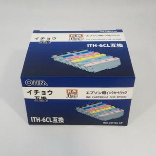 エプソン互換インク イチョウ ITH-6CL互換 6色 INK-EITHA-6P(PC周辺機器)