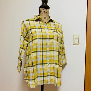 スタディオクリップ(STUDIO CLIP)のシャツワンピース チェックシャツ(シャツ/ブラウス(長袖/七分))