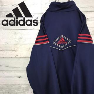 アディダス(adidas)の【激レア】アディダス adidas☆刺繍ビッグロゴ トラックトップ 90s(ジャージ)