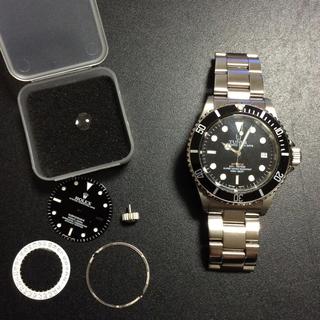 ロレックス(ROLEX)のTUNER サブマリーナ カスタム ETA2824-2スイス!(腕時計(アナログ))