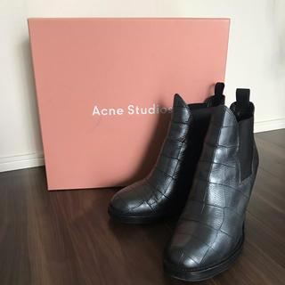 アクネ(ACNE)の定価7万 Acne Studios ショートブーツ 24cm(ブーツ)
