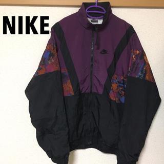 ナイキ(NIKE)のNIKE ビンテージ ナイロンジャケット サイケ(ナイロンジャケット)