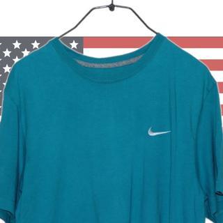 ナイキ(NIKE)のNIKE ナイキ エメラルド グリーン カラー Tシャツ 半袖(Tシャツ/カットソー(半袖/袖なし))