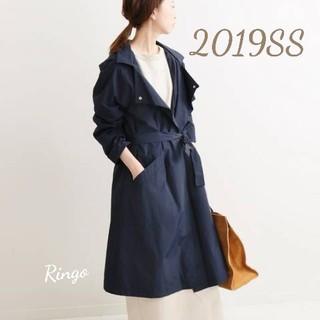 IENA - 👑大人気【2019SS】EMIN&PAUL フーデットコート◆ネイビー